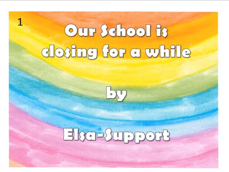 Our school is closing for a while - by Elsa Support