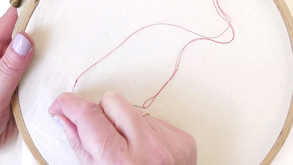 How to sew a lockstitch