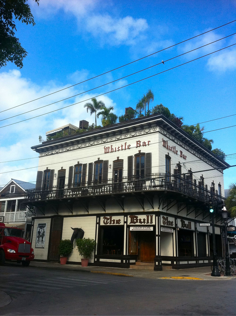 The Bull and Whistle bar Duval Street Key West