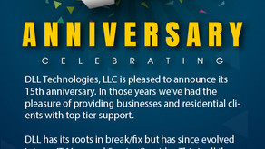 DLL Technologies 15th Year Anniversary