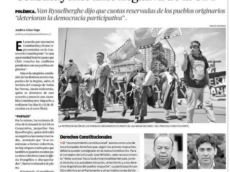 MAPUCHES PIDEN ESTAR EN CONVENCIÓN CONSTITUYENTE