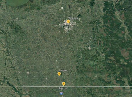 Tornado Confirmed in Southern Manitoba, near Emerson on Friday, May 3rd, 2019