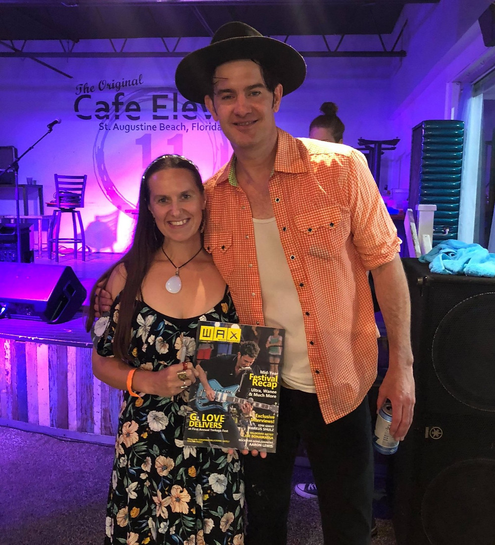 Her band photo was published in Wax magazine and she was able to get her copy signed by Garrett Dutton at one of his shows!