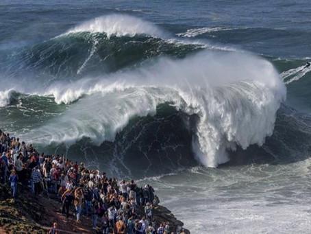 Swell histórico em Nazaré levou o big surf mundial a outro patamar - especialista divulga recordes