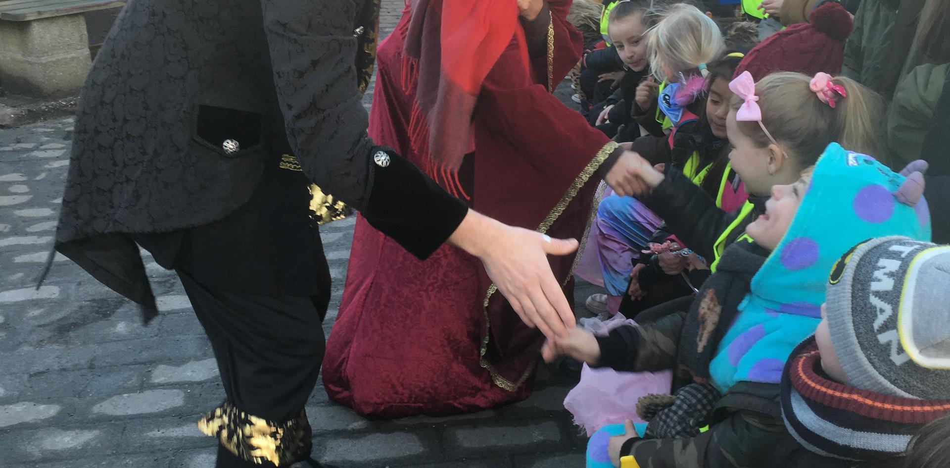 Een handje van prins Carnaval