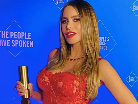 Sofia Vergara, Comedy TV Star of 2020 by People's Choice Awards