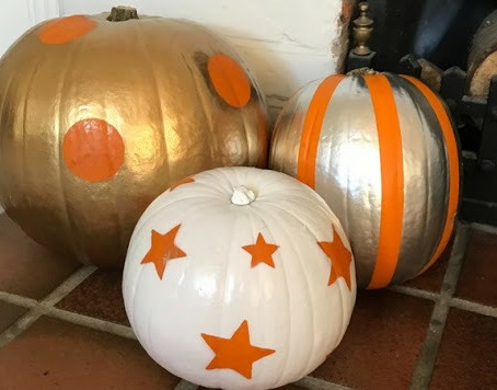 DIY Designer Pumpkins In Under 30 Minutes...