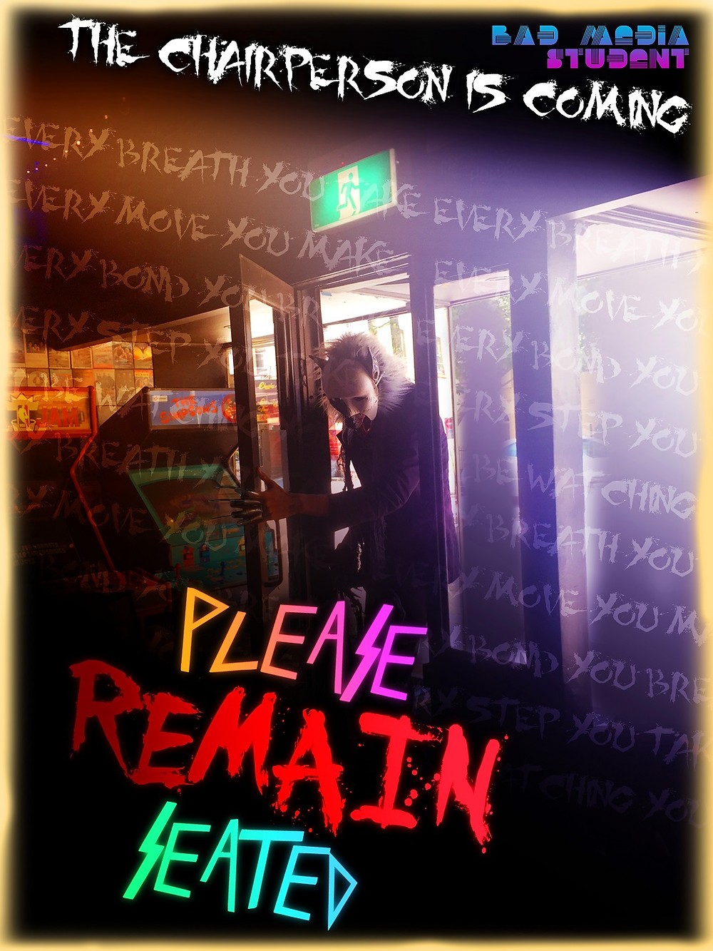 Please Remain Seated short film poster