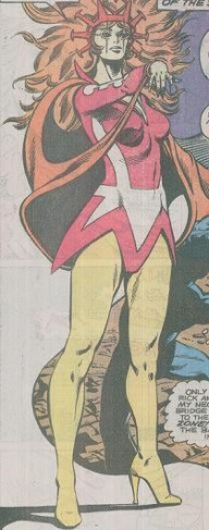 An image of the Marvel character Apalla, taken from a 1970s Dr Strange comic