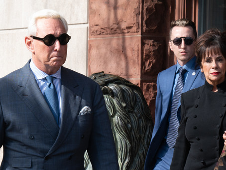 FREE ROGER: If not pardoned, Roger Stone believes he could die in prison of COVID-19