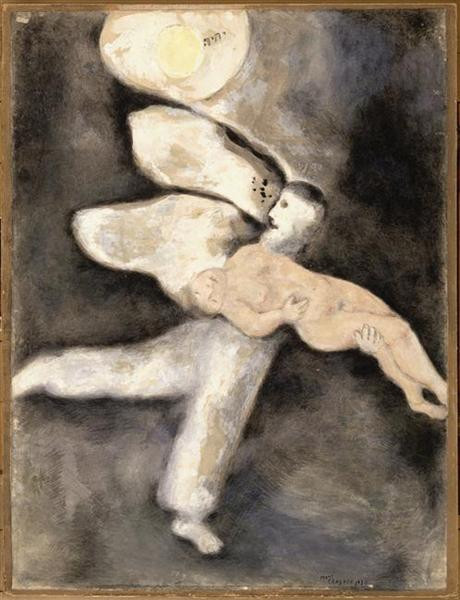 Marc Chagall, God creates Man, 1931