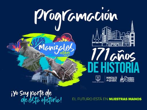 MANIZALES ESTÁ LISTA PARA CELEBRAR SUS171 AÑOS DE HISTORIA