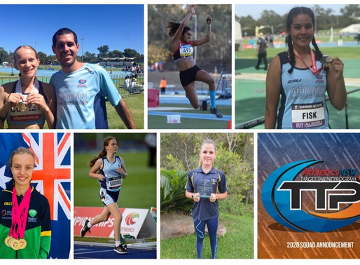 ANSW TTP Athletes Announced
