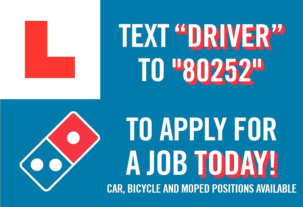 delivery driver apply now