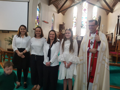Confirmation 2019 on the Feast day of St Arnaud