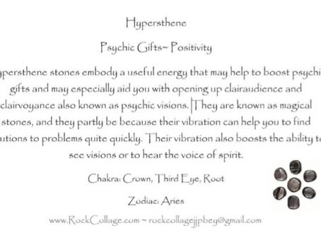 Collage Rock: Hypersthene