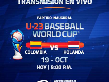 Comunicado 73: Todo listo para vivir el mundial de béisbol Sub - 23 por Telecaribe