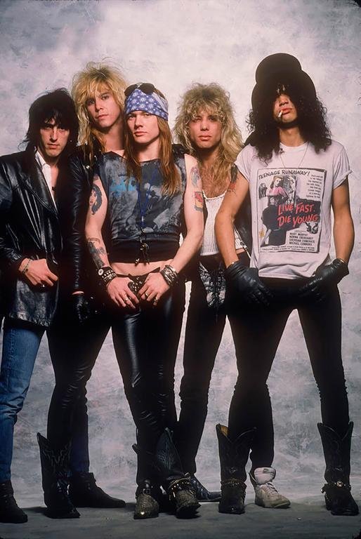Рок группа Guns N' Roses   Rock Auto Club