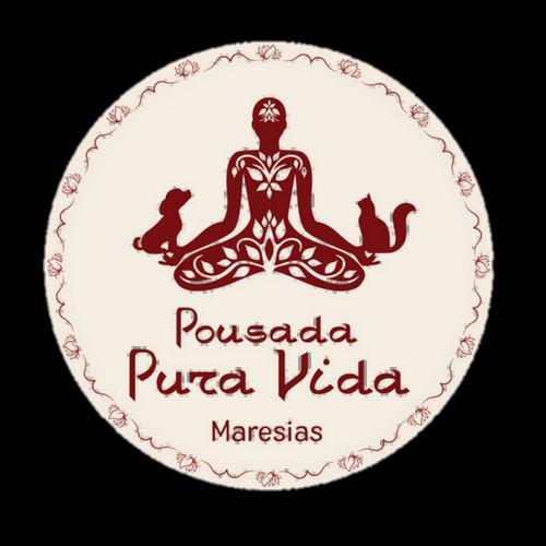 LOGO POUSADA PURA VIDA MARESIAS PETFRIENDLY