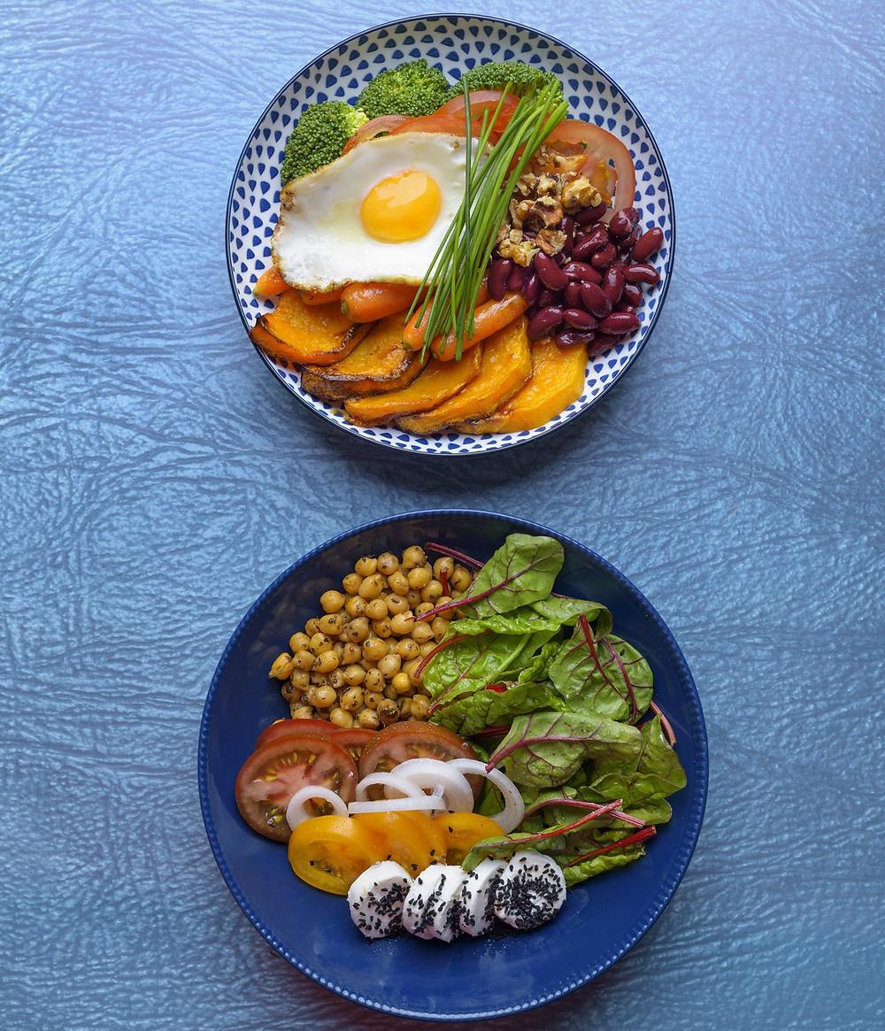 Budos dubenėlis, Budha bowl, vegetariškas užkandis, Alfo receptai