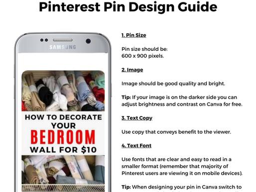 Expert Pinning Tips - Our Best Pinterest Design Guide
