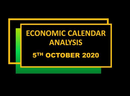 Merchant economic calendar | october 5, 2020