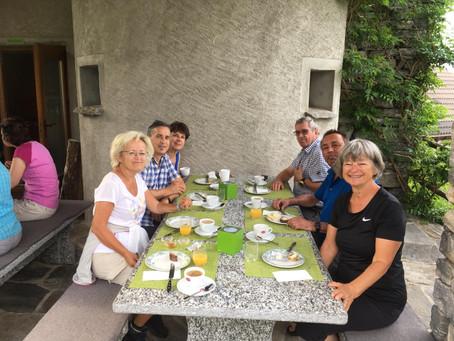 Ticino a piedi – Monte Comino      29./30. Juni