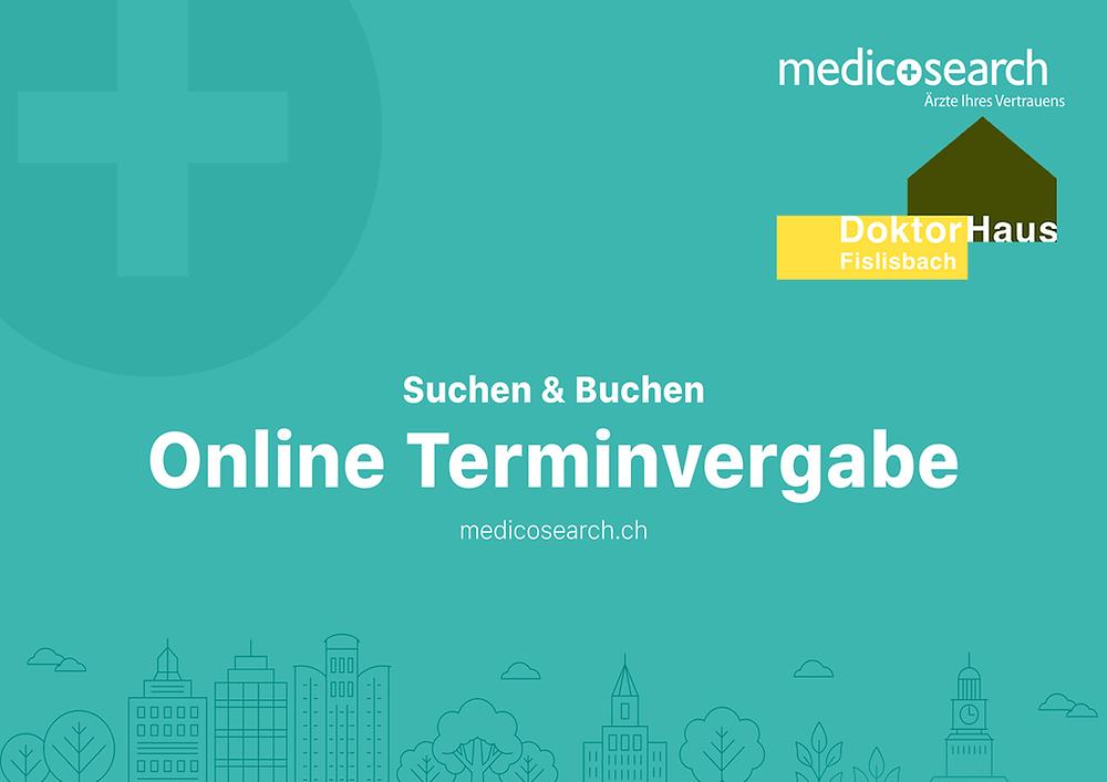 Online Terminvergabe DoktorHaus Fislisbach