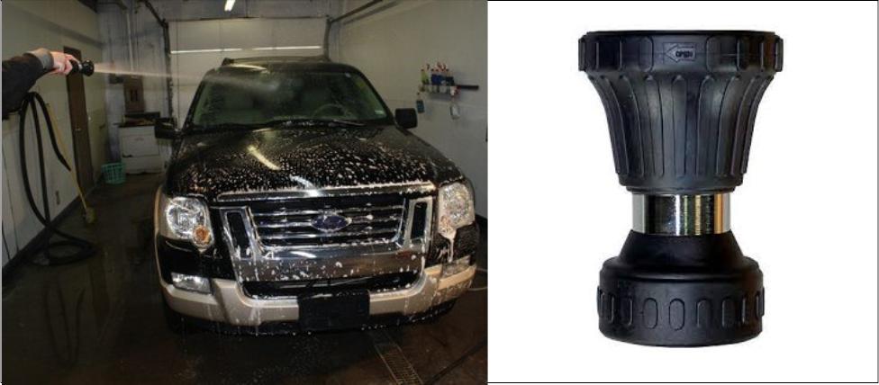 SM Arnold Fire Hose Car Wash Spray Nozzle