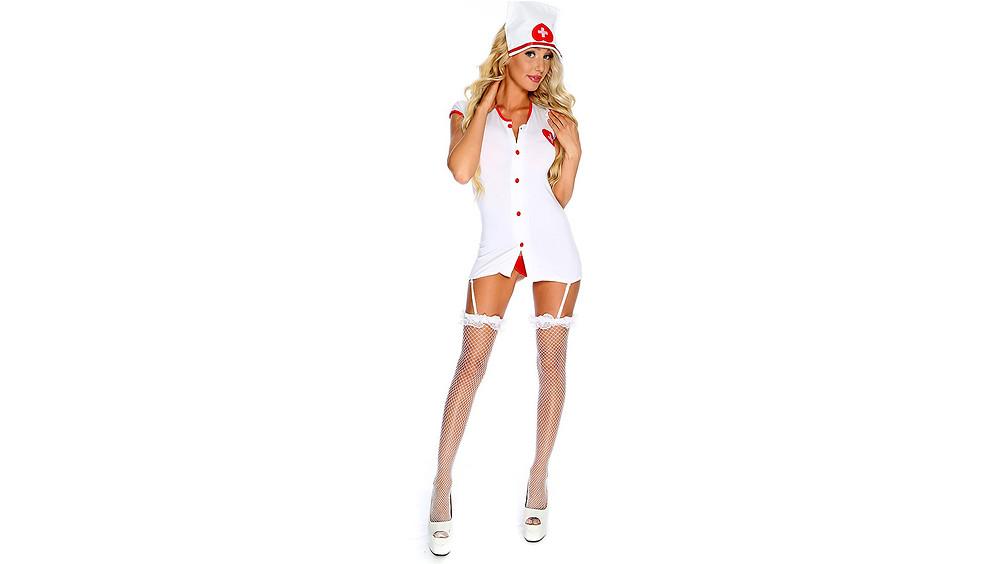 Disfraz de enfermera.