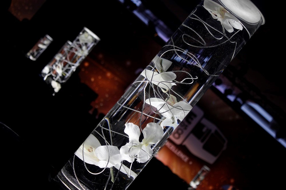 Flower Float Lit Flower Centrepiece Table Art.