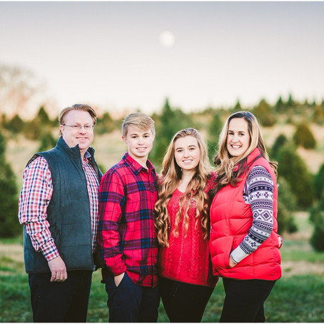 Harsha Family // Christmas Tree Farm