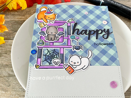 Happy Meowyween! | Heffy Doodle Cat Lover's Blog Hop