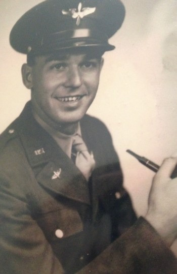 Me during my time in the service in the 1940s.