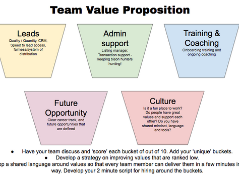 Team Value Proposition