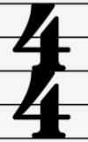 Simple 4/4 Time Signature
