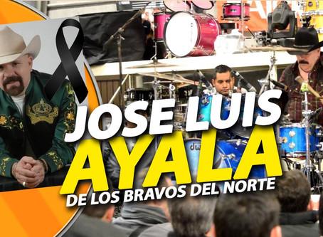 Fallece don José Luis Ayala de los Bravos del norte… nace la leyenda de la batería norteña