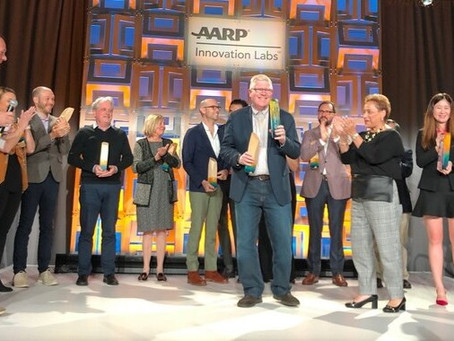 AGENCY MEMBER SUNU, INC. WINS TOP AWARD AT AARP INNOVATION LABS GRAND PITCH FINALE