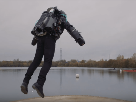 ¡Ahora si ya podrás volar como Iron Man!