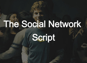 The Social Network | Scripts to Read