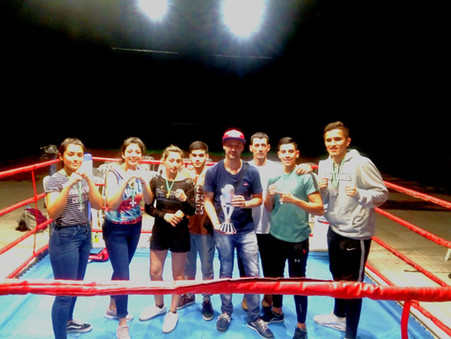 Gran actuación de la delegación argentina que participó del ''Mundialito Amateur de Boxeo WPC''