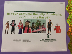 AT IT AGAIN: MSU Instructing Students What to Wear for Halloween