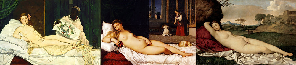 reclining ladies