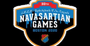 PRESS RELEASE: 30th Navasartian Games Postponed