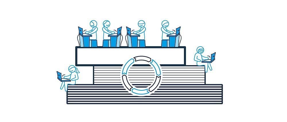 Mit dem Agilen Engineering soll Ruhe einkehren: Es ist parallel und simultan, mit unmittelbarer Informationsweitergabe an alle Beteiligten.