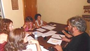 Reunión de trabajo del equipo de expertos/as y voluntarios/as del proyecto