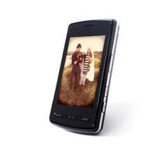 portrait de couple sur un cellulaire