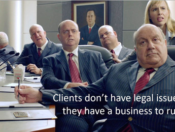 Are lawyers operating in a bubble?