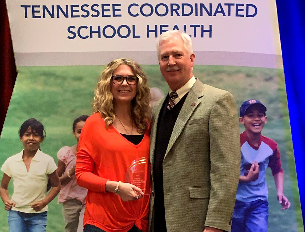 April Abercrombie  awarded CSH Dir. of the Year
