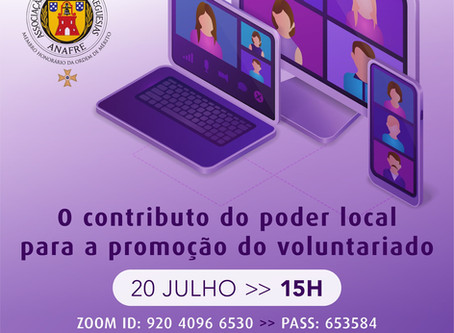 O contributo do poder local para a promoção do voluntariado